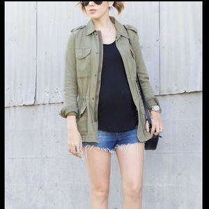 Topshop Maternity Army Green Utility Jacket 6